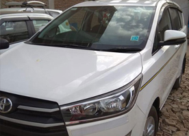 innova crysta car hire