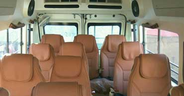 delhi rishikesh tour by 12 seater luxury tempo traveller