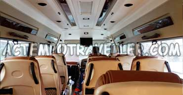 rishikesh tour by 16 seater luxury tempo traveller